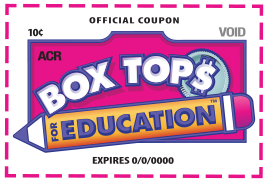 Old Box Tops for Education clip logo